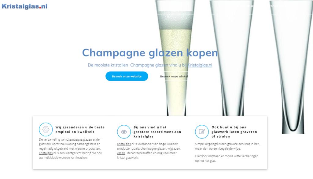 Champagne glazen kopen