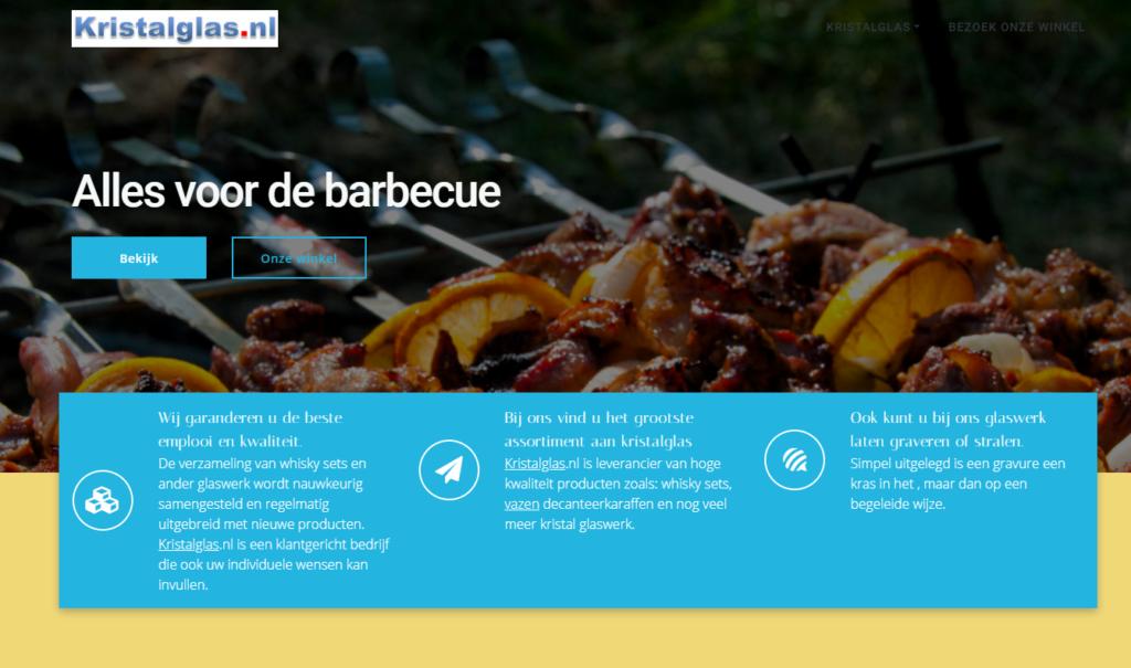 Alles voor de barbecue