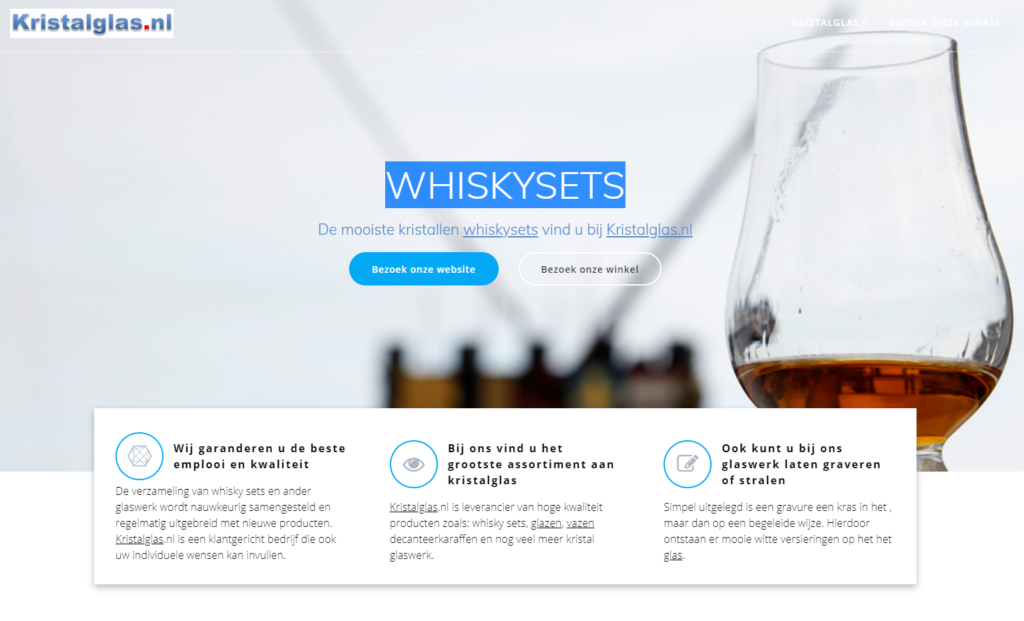 whisky sets
